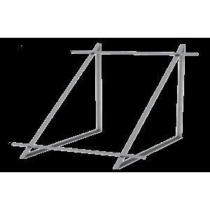 Zestaw montażowy do 2 kolektorów WEBER SOL ECO 2, dach płaski