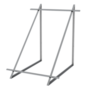 Комплект монтажный для 1 коллектора WEBER SOL ECO 2,  плоской крышей