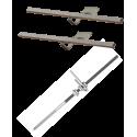 Zestaw montażowy rozszerzeniowy do 1 kolektora WEBER SOL ECO 2, dach skośny, uniwersalny