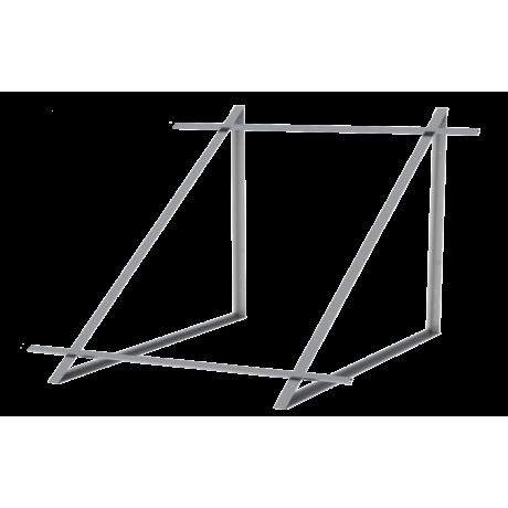 Zestaw montażowy do 2 kolektorów WEBER SOL 2,0 dach płaski