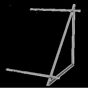 Zestaw montażowy rozszerzeniowy do 1 kolektora WEBER SOL ECO 2, dach płaski