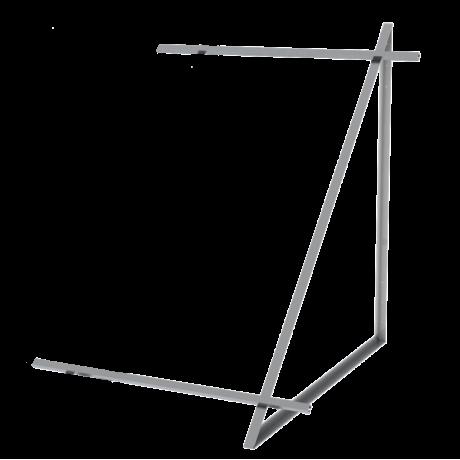Комплект монтажный расширительный для 1 коллектора WEBER SOL ECO 2, плоской крышей