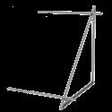 Zestaw montażowy rozszerzeniowy do 1 kolektora WEBER SOL 2,0 dach płaski