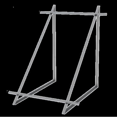 Zestaw montażowy do 1 kolektora WEBER SOL 2,0 dach płaski
