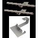 Zestaw montażowy rozszerzeniowy do 1 kolektora WEBER SOL 2,0 dach skośny, standard