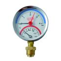 Termomanometr 0-6bar 80mm dolní