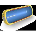 Ležatý dvouplášťový ohřívač vody 120 litrů