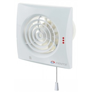 Wentylator domowy VENTS QUIET 100 V z wyłącznikiem sznurkowym