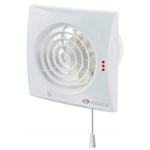 Вентилятор бытовой VENTS QUIET 125 V с выключателем со шнурком