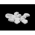 Kamienie ozdobne do biokominka 1 kg, białe
