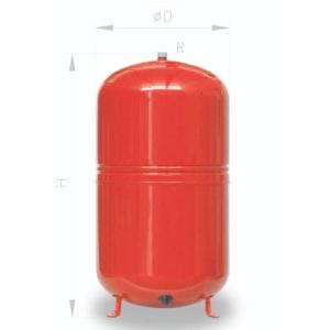 Expanzní nádoba 50L pro ÚT Ibaiondo