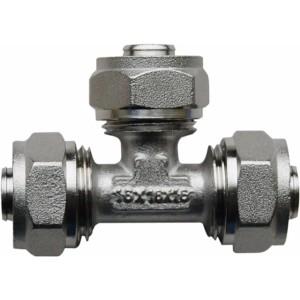Trójnik skręcany PEX/AL/PEX 16x16x16