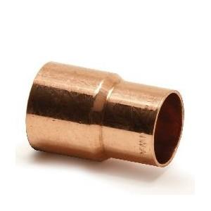 Nypel redukcyjny CU do lutowania 22 x 18mm