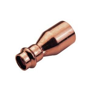 Łącznik redukcyjny 22x18mm CU zacisk-woda