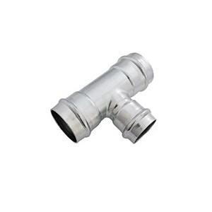 Тройник 22 мм зажим-carbon
