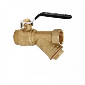 "Kulový ventil sfiltrem 1"" STANDARD"