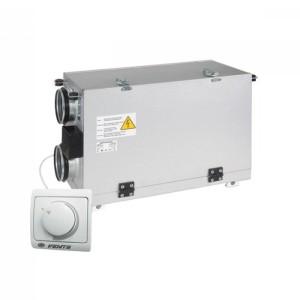 Рекуператор вентиляционная установка DOSPEL OPTIMAL 600 + пульт + автоматический байпас + фильтры+система защиты от замерзания
