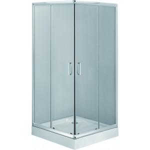 Sprchový kout DEANTE FUNKIA KYC 042K, hranatý (80 cm), průhledné sklo
