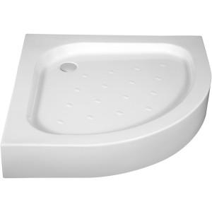 FUNKIA KTA 053B akrylová půlkruhová sprchová vanička (skříň 90 cm)