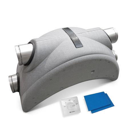 Rekuperator centrala wentylacyjna DOSPEL LUNA 200 + bypass + filtry
