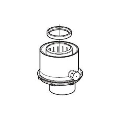 Koaxiální adaptér Ø 60/100