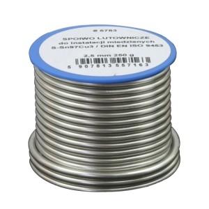Припой мягкий олово к меди, 250 г 2.0 мм