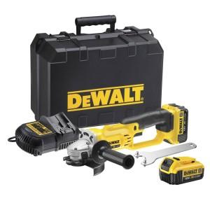 Szlifierka kątowa akumulatorowa DEWALT 125 mm, 2 aku 4.0 Ah, 7000 obr/min, DCG412M2