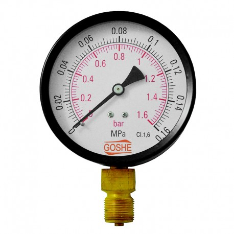Manometr 100mm 20x1,5 dolny (zdjęcie poglądowe)