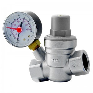 "Reduktor ciśnienia 1/2"" z manometrem"
