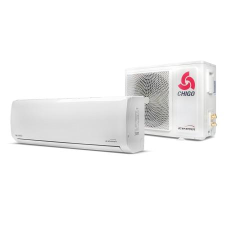 Klimatyzator ścienny split CHIGO Panel 169 White Pro 5.3 kW