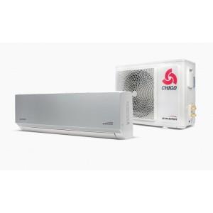 Klimatyzator ścienny split CHIGO Panel 138 Silver Steel 3,6 kW