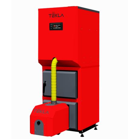 Kocioł na biomasę Tekla DRACO BIO COMPACT F II 23 kW 5 KLASA z zasobnikiem