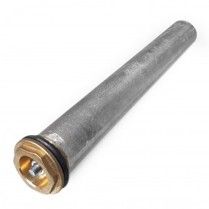 """Anoda magnezowa 2"""" 30 x 440 mm do zbiorników emaliowanych do 200 l - Uniwersalna"""