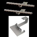 Zestaw montażowy rozszerzeniowy do 1 kolektora WEBER SOL 2,8 dach skośny, standard