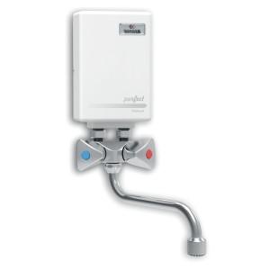 Przepływowy ogrzewacz wody 3,5/4,0/4,5/5,0 kW nadumywalkowy