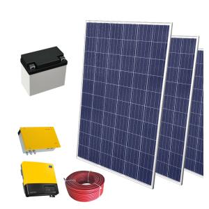 Fotovoltaická souprava SELFA, 0,28 kW OFF-GRID s baterií