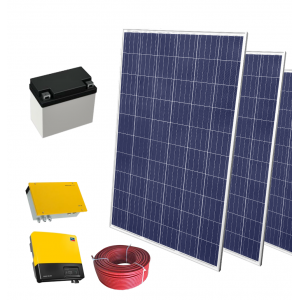 Zestaw fotowoltaiczny SELFA 0,28 kW OFF-GRID z 1 akumulatorem