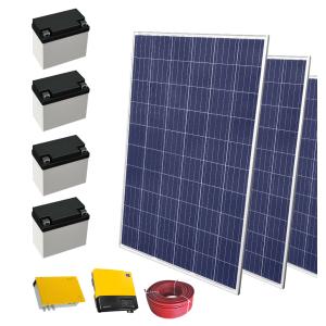Zestaw fotowoltaiczny SELFA z akumulatorem OFF-GRID - 2,24 kW