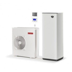 Тепловой насос Ariston NIMBUS COMPACT 50 S с баком для воды для центрального отопления и горячая вода