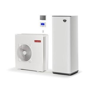 Tepelné čerpadlo Ariston NIMBUS COMPACT 70 S nádrž na horkou vodu pro ústřední vytápění a horká voda