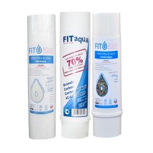 Półroczny zestaw wkładów dla filtra kuchennego 3-stopniowego RO3 FITaqua