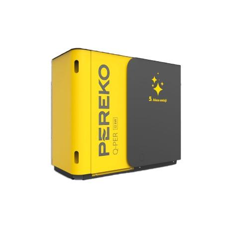 Kocioł PEREKO Q-PER 12 kW 5 klasy z podajnikiem na ekogroszek