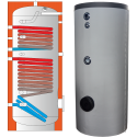 WEBER W2 1000l. Smaltovaný zásobník s2výměníky