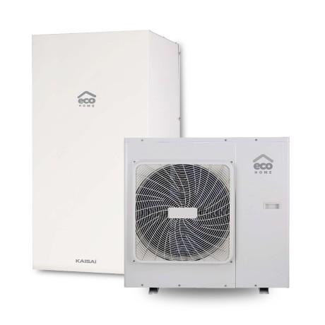 Pompa ciepła powietrze woda KAISAI Split R32 (KHA + KMK) 10 kW