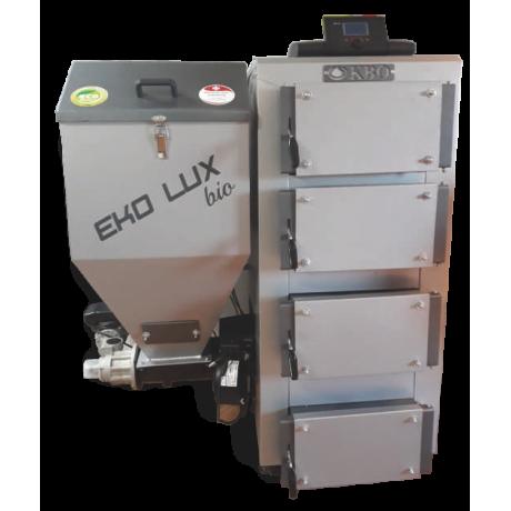 Kocioł KBO EKO LUX BIO z podajnikiem ślimakowym na ekogroszek 15 kW 5 Klasa