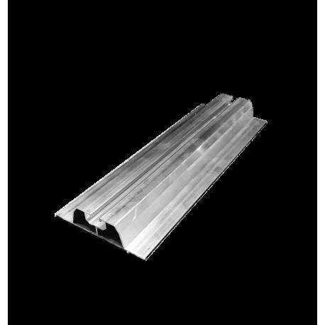 Szyna do montażu paneli fotowoltaicznych na blachę trapezową