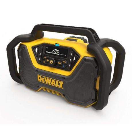 Radio budowlane DeWalt DCR029-QW z zasilaczem