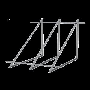 Zestaw montażowy do 2 kolektorów WEBER SOL 2,8 dach płaski