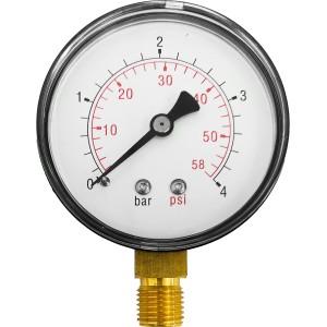 """Manometr 4bar 63mm 1/4"""" radialny"""