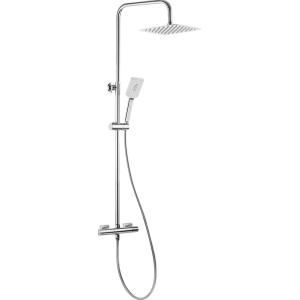 Deszczownica z baterią termostatyczną + zestawem Alpinia NAC 01LT chrome połysk
